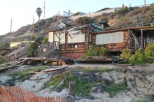 Old beach house