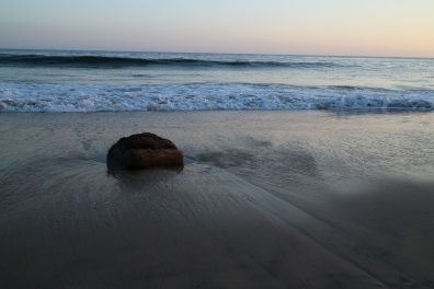 Rock by the Sea