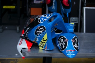Rins's body parts after crash