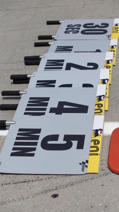 Countdown boards