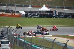 Moto2 spil at start