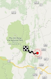 Phu Rin Rong Kla national park - Zoom out