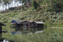 Fishing village on north side