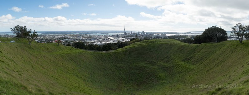Mt Eden - towards city