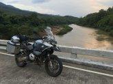 Bike by river