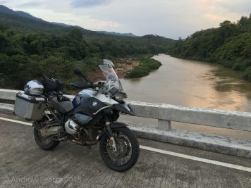 Bike by river
